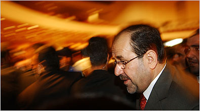 Prime Minister Nouri al-Maliki, is actually a prominent sectarian chief in Iraq, connected to the Shia sect.