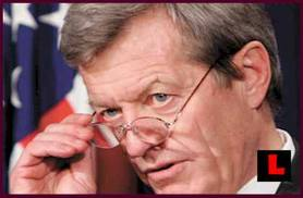 Democratic scum like Max Baucus gladly served as point man to stitch the Frankenstein Obamacare, while cheerfully drowning any possibility of single payer.  This with the full support of the DLC and Obama, of course.