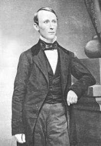 Imperialist adventurer William Walker, born in Nashville, Tenn.