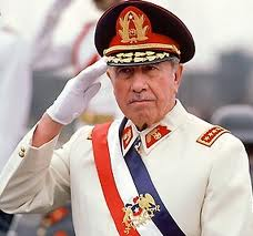 Chilean dictator Pinochet: Shielded by crony justice. It pays to do the dirty jobs for the global establishment.
