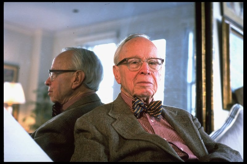"""Arthur Schlesinger Jr., supposedly an intellectual, formally a historian, but in reality an apologist for empire. Treason of the """"clerks"""" at its best."""