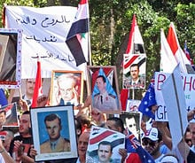 President Assad retains far more support that the Western media would admit.