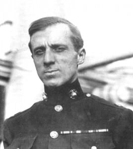 "Gen. Smedley Butler, ""The Fighting Quaker,"" perhaps the greatest soldier this country has produced. A Marine, in his later years he came to realize what he had been used for and denounced it righteously and with unparalleled courage. An example for our military."