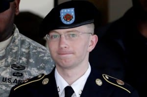 Little Chelsea Manning—has shown the mob of big macho bastards how to be a real man of principle.
