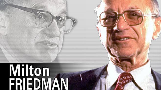 """Like all opportunists and frauds, Friedman knew a good opportunity to attain power and fame when he saw one. His role as an apostle of """"pure capitalism"""" quickly made him a media darling, despite his being an admirer of brutal fascists."""