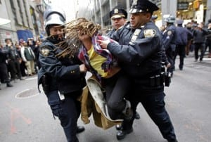 occupy-wall-street-demonstrator-is-arrested-by-new-york-city-police