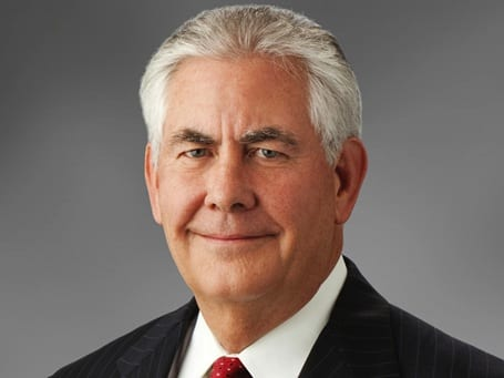 Exxon's Chief and major contributor to climate change lies, Texan Rex Tillerson.