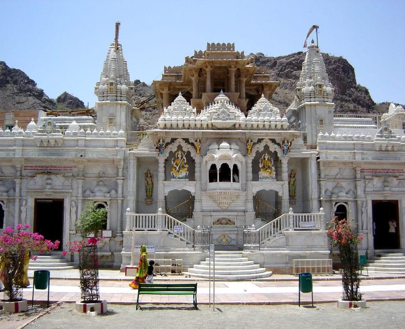 Jain temple in Rajanasthan.