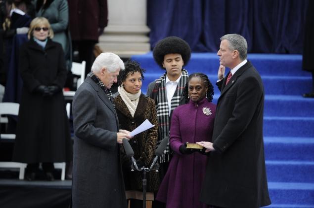 Oath Of Office New York City Mayor