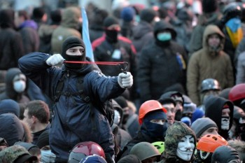 Ukraine is rent by deep regional and ethnic antagonisms.