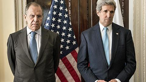 """Russia FM Lavrov and Kerry looking dour after US """"constructive ideas"""" were rejected. As they should have been."""