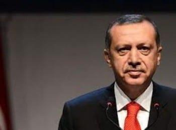 """Turkey's war criminal Erdogan: """"aggressive scum""""."""