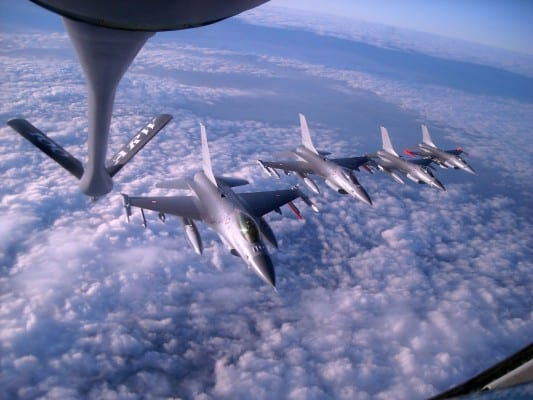 The US continues to beef up the NATO air force and other branches.