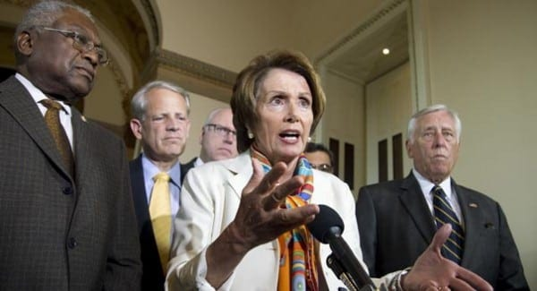 Pelosi and her Democrat crew: traitors to the public interest and full partners, not opponents, of the Republican vultures.