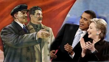 stalin-LeninObama Hillary