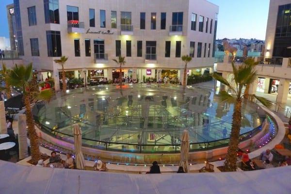 5 star Taj mall at sunset