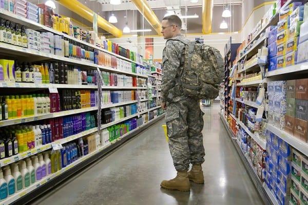 Grafenwörhr military supermarket