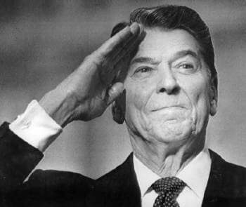 Reagan: The superficially amiable clown that set the clock back several generations.