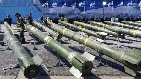 Syrian-made missiles.