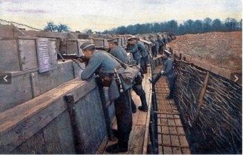 Actual German line.