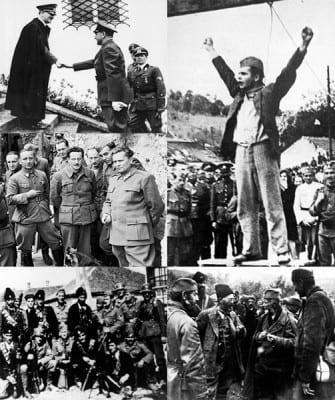 Images from the Yugoslavian War of Liberation (WW2). / click to expand