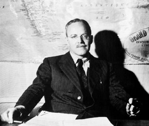 "Allen Dulles, OSS, CIA—The template for the scumbag ""gentlemen"" who would save the world from the ""communist menace."""