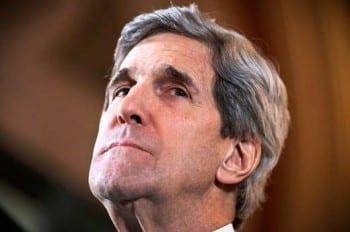 © Reuters/Lefteris Pitarakis Secretary of State John Kerry