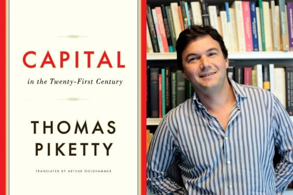 Piketty and his magnus opus. (click to expand)