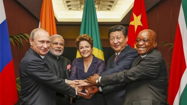 BRICS heads of state meeting in Brisbane, Australia, during the G20 summit.
