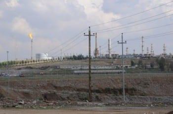 Erbil refineries.