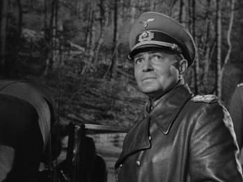 In The Desert Fox (1951), the formidable James Mason portrayed Marshall Erwin Rommel as a principled military man quietly opposed to the brutalities of Nazism and Hitler, in particular.