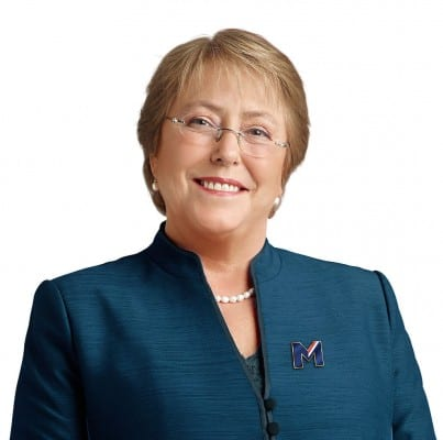 Like most nominal socialists, Chile's Bachelet has quickly caved in to relatively mild pressures.