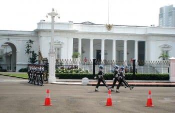 Medarka Palace: Indonesia's presidential seat.