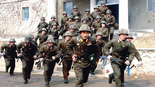 North Korean soldiers are forced to keep themselves in an almost constant state of alert.