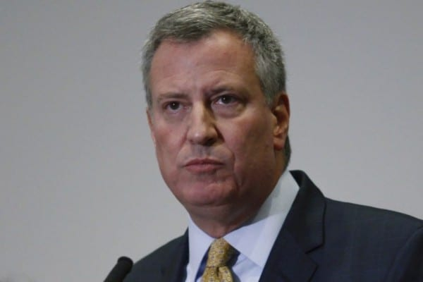 Mayor de Blasio has been vilified by police mouthpieces, who are darkly insinuating they won't protect the Mayor. Fascistic thuggery under the guise of the First Amendment and defense of union rights.
