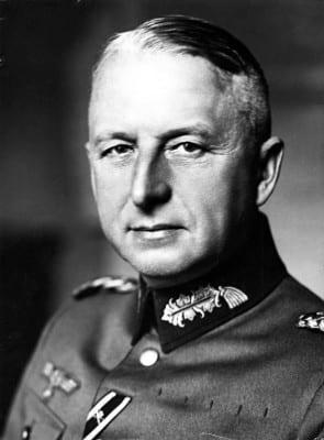 Generalmajor Erich von Manstein