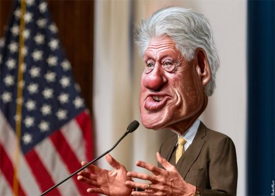 Bill Clinton (DonkeyHotey, via flickr)