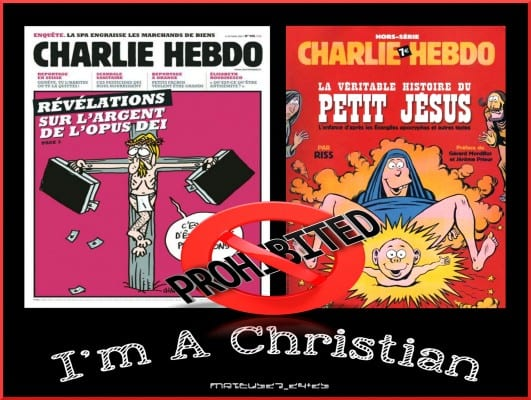 Charlie went after the Christian brand of zealotry, too. (via flickr, MATEUS_27-24&25)