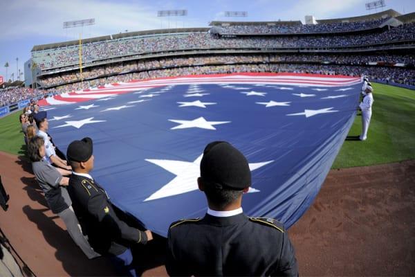Angels Dodgers Baseball