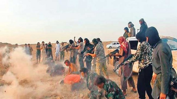 Saudi-created ISIL gangsters and fanatics murder Syrian troops in cld blood. (Oriental Review)