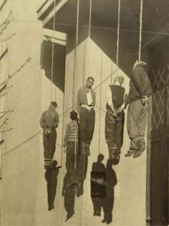 Ukraine, Kharkov, Civilians hanged by the Germans in retaliation