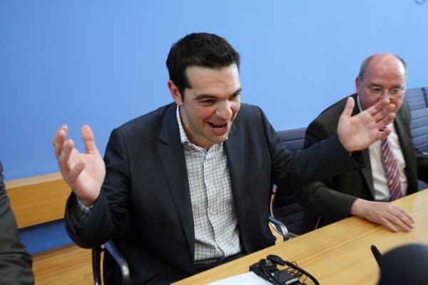 Tsipras on tour in Europe. (FraktionDieLinke.flickr)