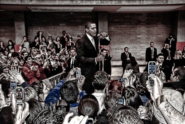 Obama has turned out to be the perfect shill for the corporate elites. (Chris Coleman, via flickr)