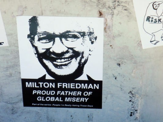 miltonFriedman-stencil-poster.d.lobo.flickr