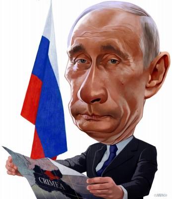"Accusing him of ""grabbing"" the Crimea."