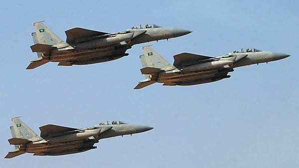 Saudi fighter jets: sowing death as part of the master plan approved by the Saudi royal mafia and Washington murderers.