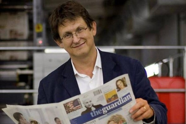Rusbridger—a prominent member of the West's incestuous and ultra-narcissistic mediacracy.