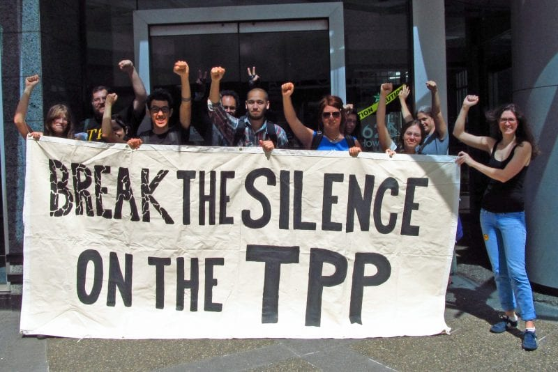 Fortunately, the TPP has attracted a healthy level of popular opposition.
