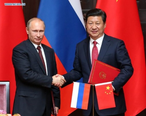 The empire's arrogant bullying and attempts at intimidation and destabilization have finally thrown China into Russia's arms, who can also use a strong and capable friend. Neither China or Russia will ever relinquish their sovereignty.