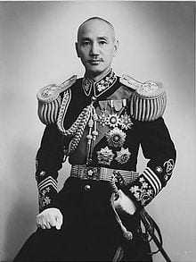 Chiang in full regalia: As head of the Kuomintang, he always put ruling class interests above China's masses, thereby endearing himself to the Western powers.